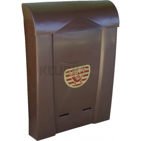 Poštová schránka D plast