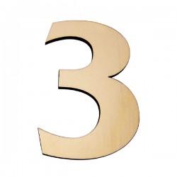Domové číslo popisné DREVO č.3