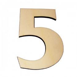 Domové číslo popisné DREVO č.5