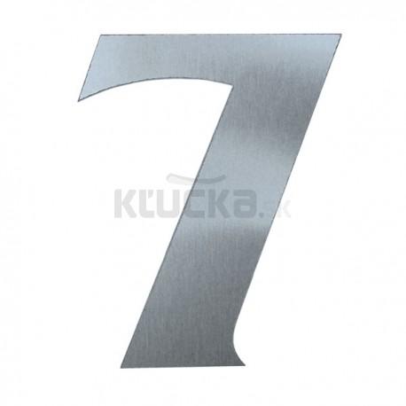 Domové číslo popisné 120mm nerez č.7