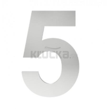 """číslo """"5"""" 155mm nerez"""