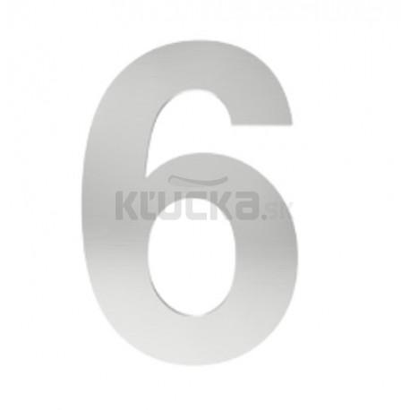 """číslo """"6"""" 155mm nerez"""