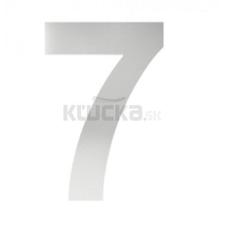 """číslo """"7"""" 155mm nerez"""