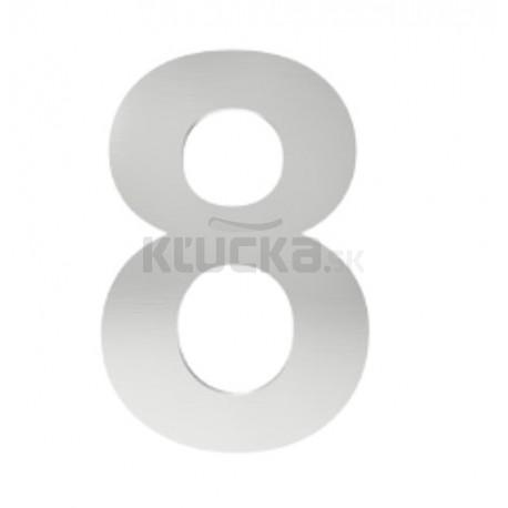 """číslo """"8"""" 155mm nerez"""