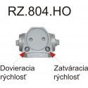 RZ804 zatvárač