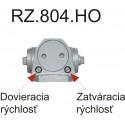 RZ804 HO zatvárač