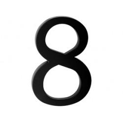 "domove číslo 180mm čierne ""8"""