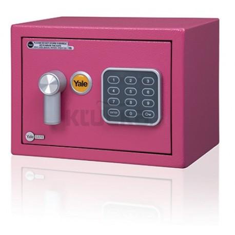 Yale Value Safe mini ružový