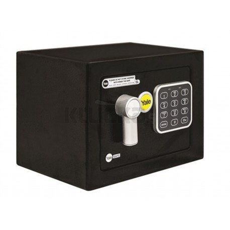 YALE VALUE SAFE mini čierny