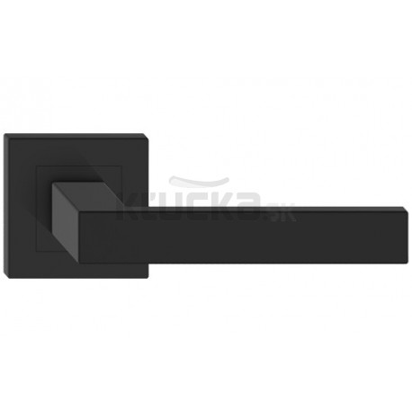 TOPAZ kľučka rozetová čierna