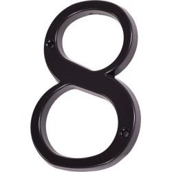 "Číslo "" 8 "" čierne 120mm"