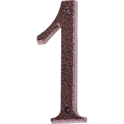 "Číslo "" 1 "" medený antik 120mm"