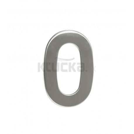 """Číslica """"0"""" 95mm nerez"""