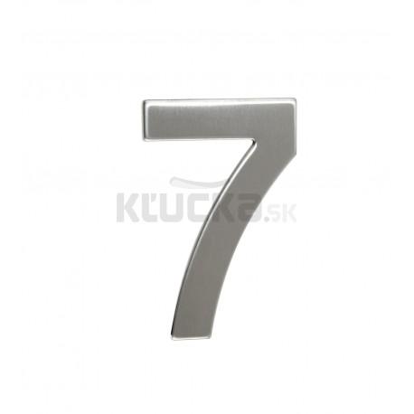 """Číslica """"7"""" 95mm nerez"""