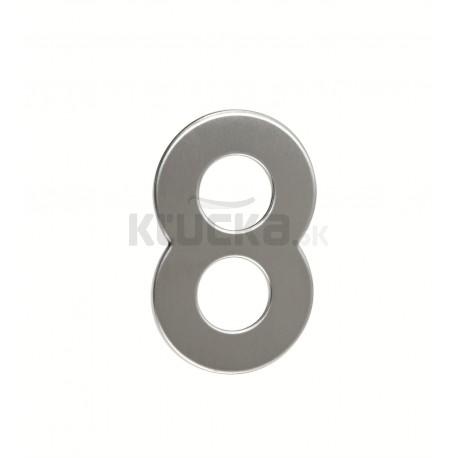 """Číslica """"8"""" 95mm nerez"""