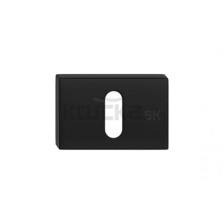 Dolný štít na kľúč- Čierny matný