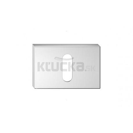 Dolný štít na kľúč CORONA U- Chróm brúsený