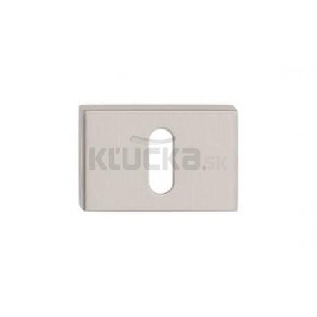 Dolný štít na kľúč CORONA U- Nikel brúsený matný