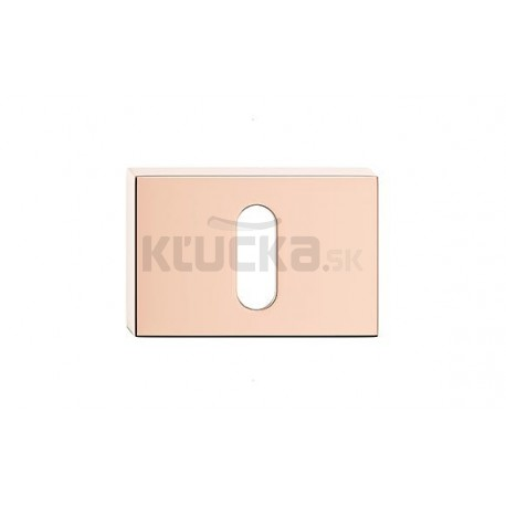 Dolný štít na kľúč CORONA U- Medený lesklý