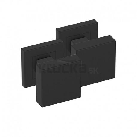 Guľa štvorcová čierna pár SGKOCZ