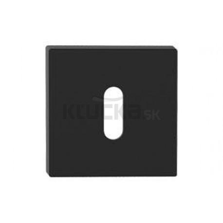 Dolný štít na kľúč čierny
