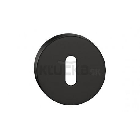 Dolný štít na kľúč CORONA O- Čierny matný
