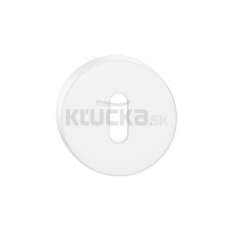 Dolný štít na kľúč CORONA O- Biely matný