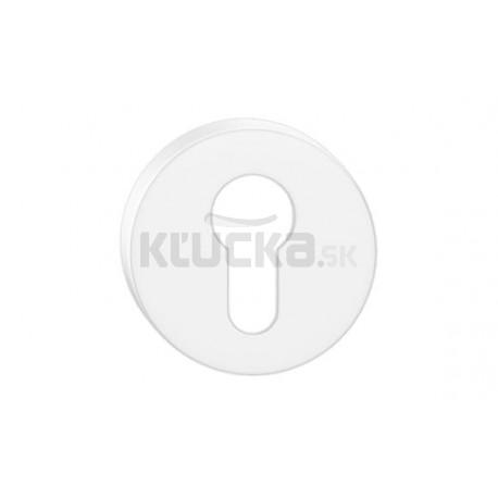 Dolný štít na vložku CORONA O-Biely matný