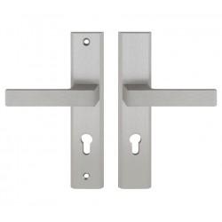 TOTAL vchodová kľučka-kľučka INOX pravá