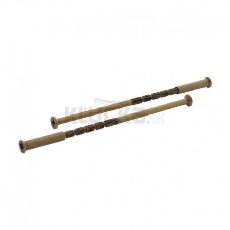 Montážne skrutky spojovacie 110mm bronz ZP2