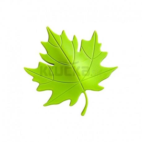 Dverová zarážka LIST zelená