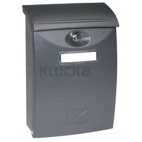 BK03 antracit plastová schránka