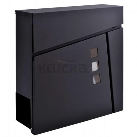 JOHAN poštová schránka čierna