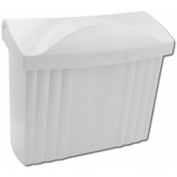 PH ležatá poštová schránka biela