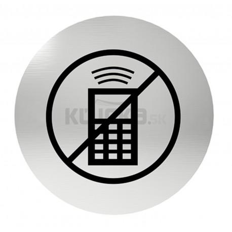 Označenie dverí samolepiace - zákaz telefonovania