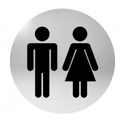 Označenie dverí samolepiace - WC
