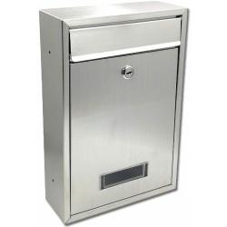 TECH poštová schránka nerez