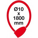 RL.572 10x1800.CRN lankový zámok s LED kľúčom