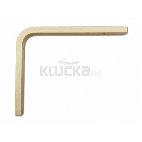 Konzola drevená 200x250x18mm