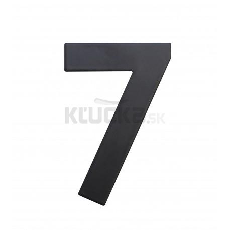 """RN.75L číslo """"7"""" 75 mm čierné matné"""