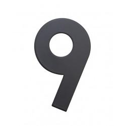 """RN.75L číslo """"9"""" 75 mm čierné matné"""