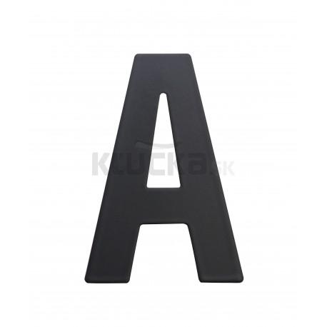 """RN.75L číslo """"A"""" 75 mm čierné matné"""