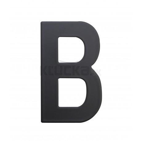 """RN.75L číslo """"B"""" 75 mm čierné matné"""