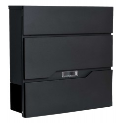 VIKA poštová schránka čierna