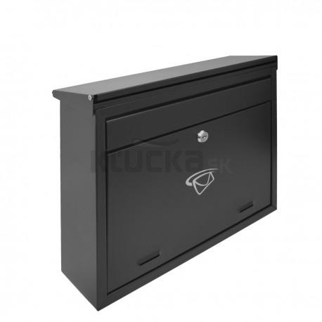 SWT1 schránka obojstranná čierna