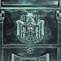 BK301 poštová schránka zelený antik