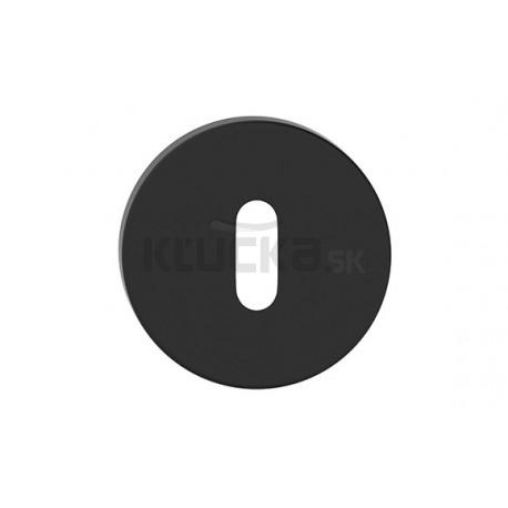 Štít dolný na kľúč R SLIM čierny SZOSLCZK