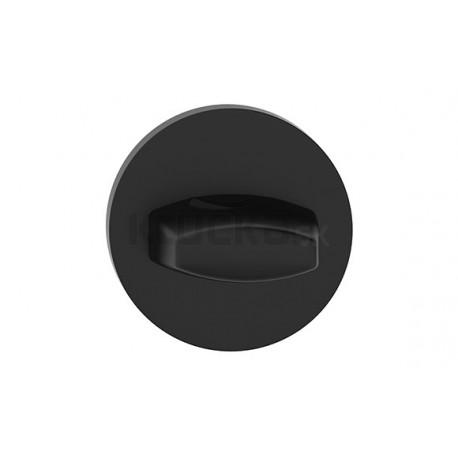 Štít dolný na WC R SLIM čierny SZOSLCZW