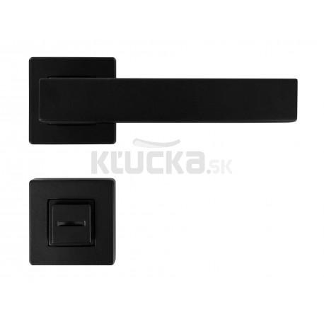 K01 WC kľučka na dvere čierna