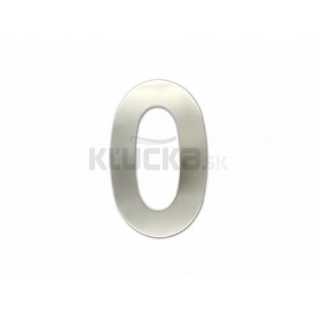 """Číslica """"0"""" fasádna 150mm NEREZ"""